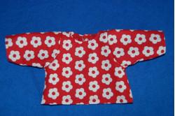 MØNSTER: Bluse med lange ærmer