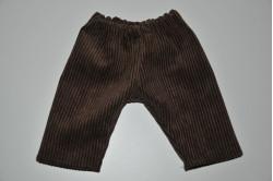 Brun fløjlsbuks
