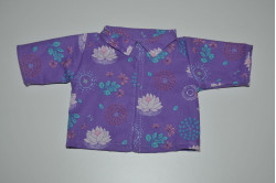 Dukkejakke med lotusblomster